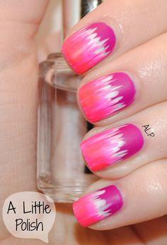 pink nail design, #nailart