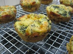 gluten free breakfast muffins recipe egg broccoli cheese
