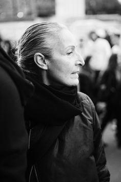 Edith Blayney in Paris Fashion Week FW 14/15 Rick Owens Show on Behance