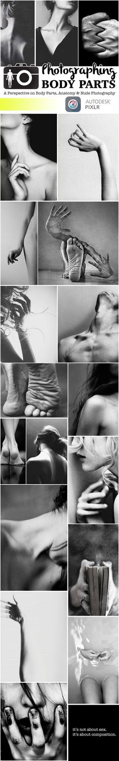 Photos of body parts can besexy. Or boring and everyday, depending on the editing choices you make. Body parts can be more impactful than a facial portrait when composition and lighting are the key factors in your final cut. Facial segments, hands, feet, necklines, backlines, navel dips — any and all fragments of the human …