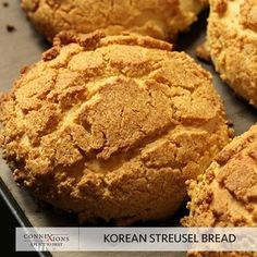 The smell of good bread baking, like the sound of lightly flowing water, is indescribable in its evocation of innocence and delight. Take a bite of our exotic Korean Bread Streusel at #Connexions #HeartOfChennai.