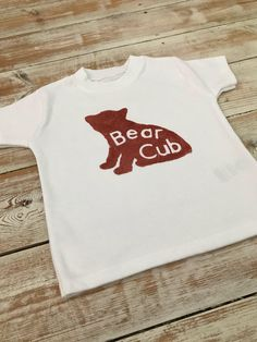 Keepsake Quilting, Bear Cubs, Organic Baby, Baby Bodysuit, My Etsy Shop, T Shirts For Women, Trending Outfits, Crafts, Shopping