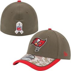 Tampa Bay Buccaneers New Era 2014 Salute to Service On Field 39THIRTY Flex  Hat - Olive Camo 5014a4e96