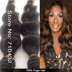 Malaysian Virgin hair free shipping 3 or 4 pcs Lot, 100%Queen malaysian virgin wavy hair ,  color1b# $88.00 - 308.00