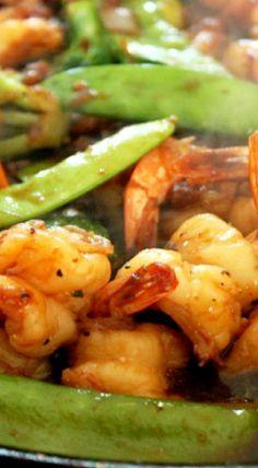 Spicy Pineapple Shrimp Stir Fry