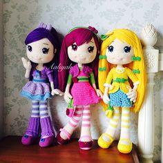 Girls #doll #dolls #crochetdoll #amigurumi #craft #handmade #毛線娃娃 #編織 #編みぐるみ…