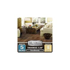 "Mohawk Industries WEC56-14 Greyson Distressed 3/8"" Sienna Engineered Hardwood Fl Sienna Flooring Hardwood Engineered"