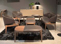Velis Lounge & Bench Collection by Potocco