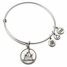 Walt Disney World Castle Charm Bracelet by Alex and Ani