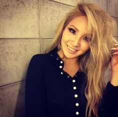 Sweet smile of cl