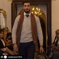 Calabrese 1924 Fall/Winter collection  Wool scarves now available at zampadigallina.com