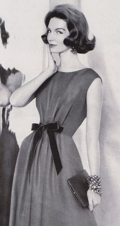 Givenchy 1959 Deceptively simple. Are those really just tucks at the front?