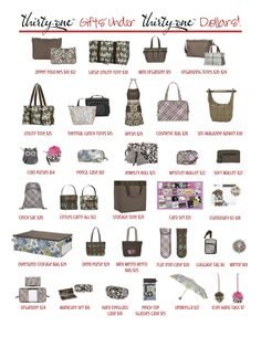 Thirty-One Gifts Under Thirty-One Dollars