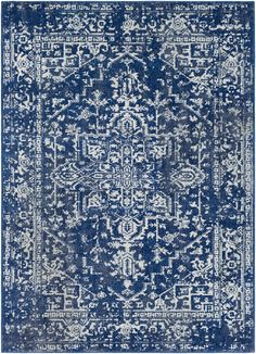 Lulu and Georiga Prisha Rug, Indigo  ~ Great pin! For Oahu architectural design visit http://ownerbuiltdesign.com