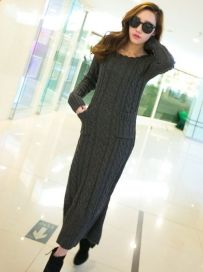 Hot Selling Turtleneck Pineapple Pattern Long Pullover Sweater - BuyTrends.com