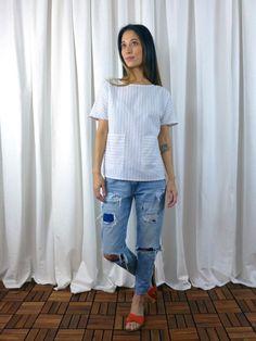 Lottie Pattern - Shirt by Christine Haynes Patterns | Project | Sewing / Shirts…