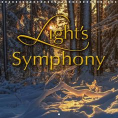 Light´s Symphony - CALVENDO calendar by Stefanie Pappon - www.calvendo.co.uk/galerie/lights-symphony/ - #light #photography #calendars