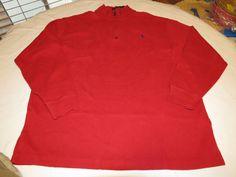 Polo Ralph Lauren sweater pull over shirt Big & Tall 2XB BIG Mens 7115239 94006 #PoloRalphLauren #sweaterpolo