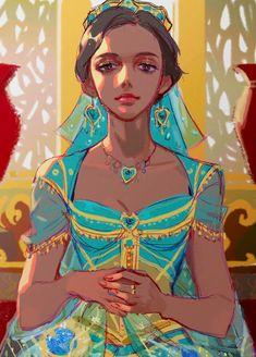 Film Disney, Arte Disney, Disney Magic, Punk Disney, Disney Songs, Disney Quotes, Disney Jasmine, Aladdin And Jasmine, Disney Princess Art
