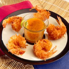 Bubba Gump Coconut Shrimp, been there, had it once, loved it, just in case I decide to make it Fried Coconut Shrimp, Fried Shrimp Recipes, Coconut Shrimp Recipes, Seafood Recipes, Shrimp Dishes, Shrimp Meals, Copycat Recipes, My Recipes, Favorite Recipes