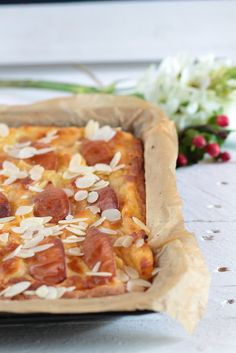 Birnen-Nutella Traum Kuchen Hawaiian Pizza, Food, Meals