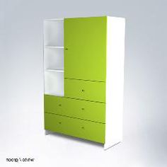 The AJ Armoire by ducduc is a wonderful storage option for your little one's nursery. This modern armoire will translate from nursery to child's room to teen room seamlessly! Storage Drawers, Tall Cabinet Storage, Locker Storage, Modern Childrens Furniture, Modern Furniture, Baby Nursery Furniture, Kids Dressers, Kid Beds, Adjustable Shelving