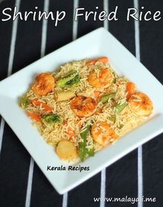 Collection of traditional recipes from Kerala. Kerala Recipes, Indian Food Recipes, Shrimp Fried Rice, Kerala Food, Rice Bowls, Grains, Meals, Chicken, Kitchens