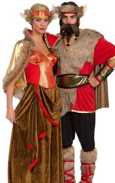 Adult Viking Queen Costume   Costume Craze