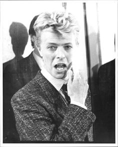 Oh Bowie with you kind of boyish charn