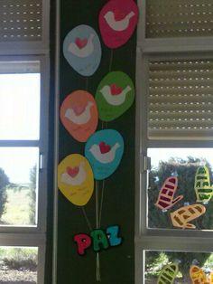 Trabajo del día de la Paz Peace Crafts, Ideas Para, Classroom, Easter, Activities, School, Day, Kids, Inspiration