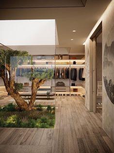 Home Room Design, Dream Home Design, Modern House Design, My Dream Home, Home Interior Design, Interior Architecture, Architecture House Design, Modern Interior, Architecture Courtyard