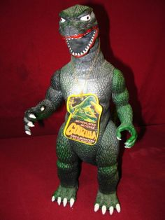 1985 Vintage Piece Godzilla Action Figure