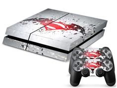 BATMAN VS SUPERMAN Skin Set for PS4 Playstation 4 Console And Controller