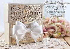 Introducing Arched Elegance - a new pocket die Designed by Becca Feeken for Spellbinders - www.amazingpapergrace.com