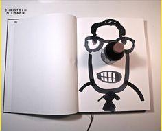 Schöne Website mit jede Menge Inspiration vom Illustrator Christoph Niemann.