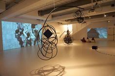 """Rosana Antolí #Exposición """"Cuando las líneas son tiempor"""" #Espai13 Fundación Joan Miró Barcelona #Arte #Art #ContemporaryArt #ArteContemporáneo #Arterecord 2016 https://twitter.com/arterecord"""