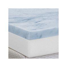 Health-O-Pedic 3-in. Gel Memory Foam Mattress Topper, White