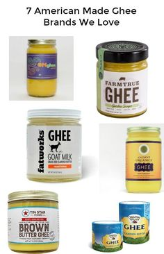Are you already in love with ghee? We've got the answers to your questions plus the best ghee brands made in the USA. Try this foodie treat that supports American farms. Whole 30 Approved Foods, Organic Ghee, Dairy Packaging, Making Ghee, Ghee Butter, Desi Ghee, Whole 30 Diet, Food Lab, Star Food