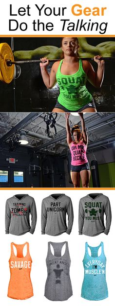 Gear that speaks for you when you're out of breath from crushing your workout.  At G2OH you'll find an extensive collection of workout gear for crossfitters, weightlifters, runners and athletes wanting to get the most out of every work out. Made with premium materials, you'll find our apparel is comfortable, flexes and moves with no restrictions, retains shape, and dries quickly. See what all the fuss is about - shop the G2OH collection today!