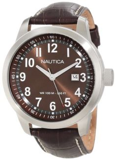 Men's Wrist Watches - Nautica Mens N13605G NCT 401 Classic Analog Watch *** Read more reviews of the product by visiting the link on the image. (This is an Amazon affiliate link)