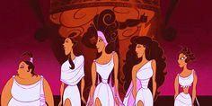 Muses  #hercules #disney #gif