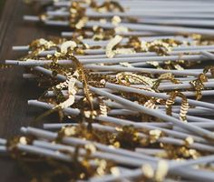 Bustled Blog straw charms favors