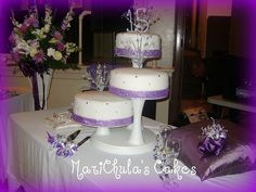 Sweet 15 Cake / Quinceñera