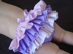 Beautiful Parley Ray Pink & Purple Spring Ruffled by ParleyRay, $24.99