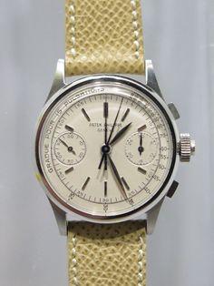 Patek Philippe Split Seconds Chronograph reference 1436. Via Hodinkee.com