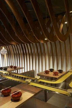 The Cave Restaurant Design by Koichi Takada Architects - Architecture & Interior Design Ideas and Online Archives Architecture Restaurant, Hotel Restaurant, Restaurant Concept, Interior Architecture, Restaurant Restaurant, Modern Restaurant, Organic Architecture, Luxury Interior, Restaurant Design Moderne