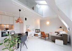 Beautiful loft apartment | Scandinavian design, interiors and decoration