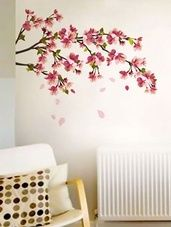 Cherry Blossom Wall Sticker -  online shopping for Wall Decals & Stickers