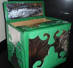 la caixa màgica per crear atenció, imaginació, il·lusió...