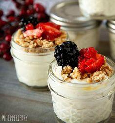 Healthy Snacks in Jars